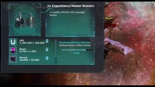 Darkorbit - 500million honor / 5million rankpoints in 5 minutes