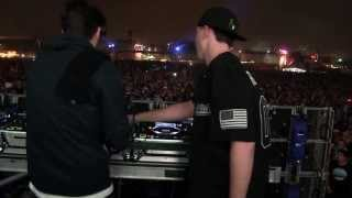 BAAUER B2B RL GRIME - INTRO LETSGO TURNIP @ HARD DAY 2 OF THE DEAD - 11.3.2013