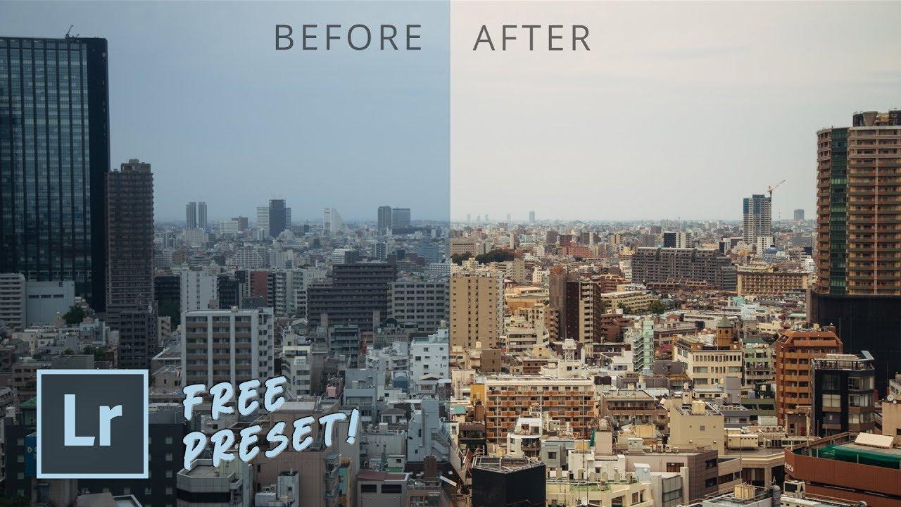 Free Lightroom Preset: Tokyo Warm   My Best Lightroom Presets