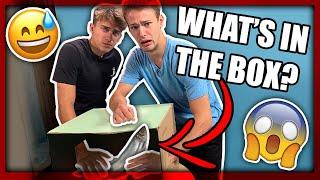 What's in the BOX challenge *LJIGAVE STVARI* | TheSikrt & Bruno Lukić