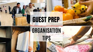 Guest Prep || Things to do || Tips & Organisation
