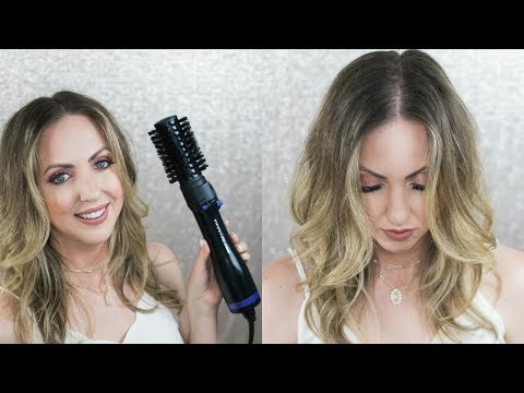 Trying the Conair Infiniti Pro Spin Air Brush Styler