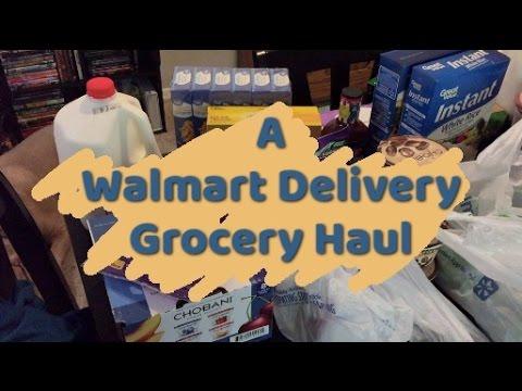 Grocery Haul| WalMart Grocery Delivery| 5.10.17| Chelsea Plotzke