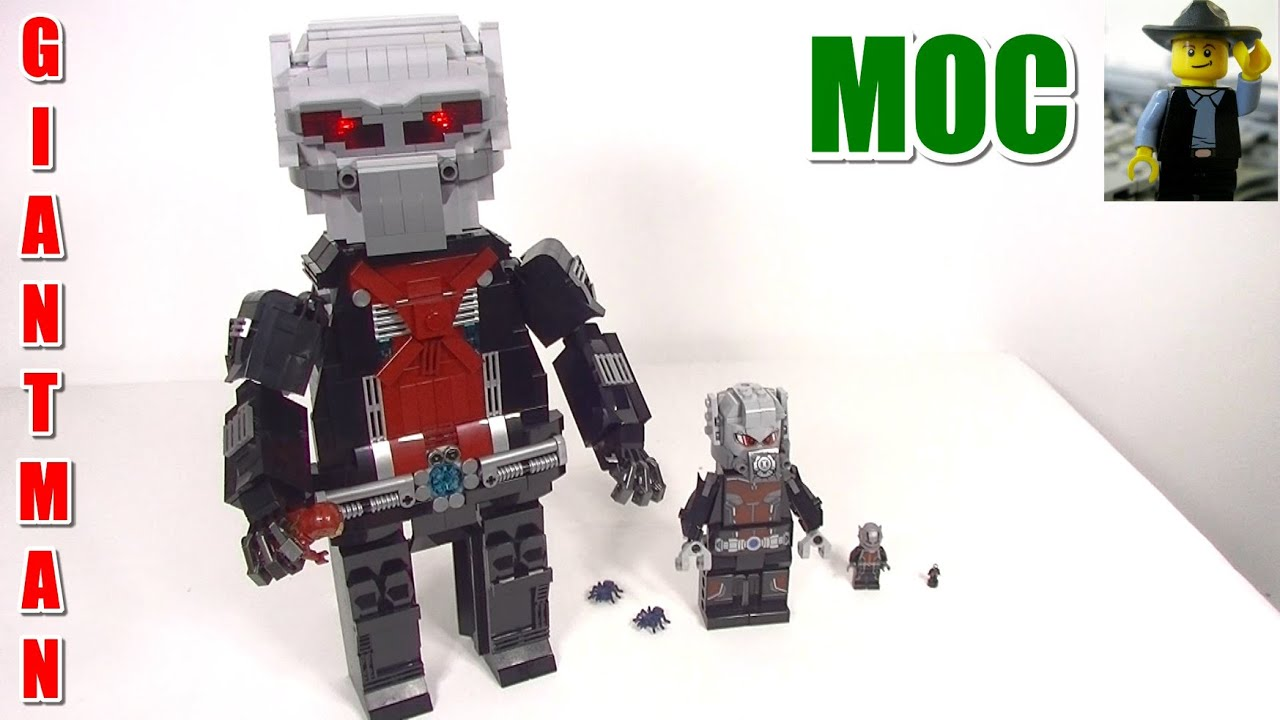 Lego Marvel Moc: Lego MOC Marvel's Ant-Man As GIANT-MAN