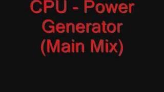 Baixar CPU - Power Generator (Main Mix)