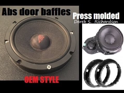 Builds: abs molded speaker door baffles with axis (real basic)