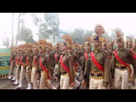 Republic day full pared in Lucknow 2017   full HD ...