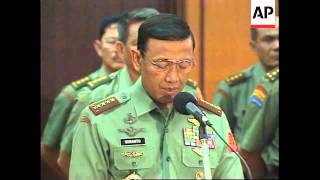 Download INDONESIA: LIEUTENANT GENERAL PRABOWO SUBIANTO IS DISMISSED Mp3 and Videos