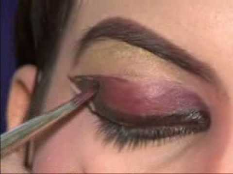Indian Classical Dance Makeup Demo For Beginners - Part01