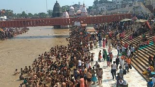 HARIDWAR Har ki pauri !! Holy bath in ganga river !! Best holy city in Uttarakhand India