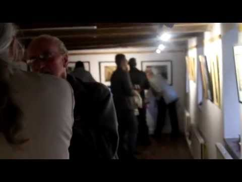 "Phil Barrington's ""FEMALES"" Exhibition at the Hamburg Gallery, Hanse House 2014 HD"
