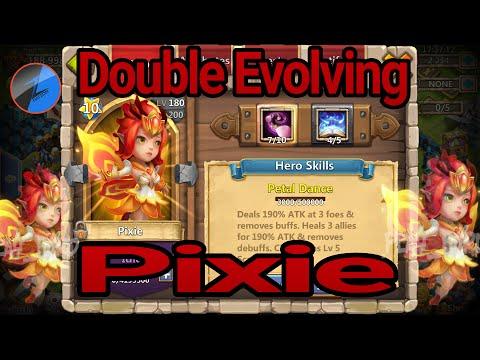 Double Evolving Pixie Castle Clash - DEVO