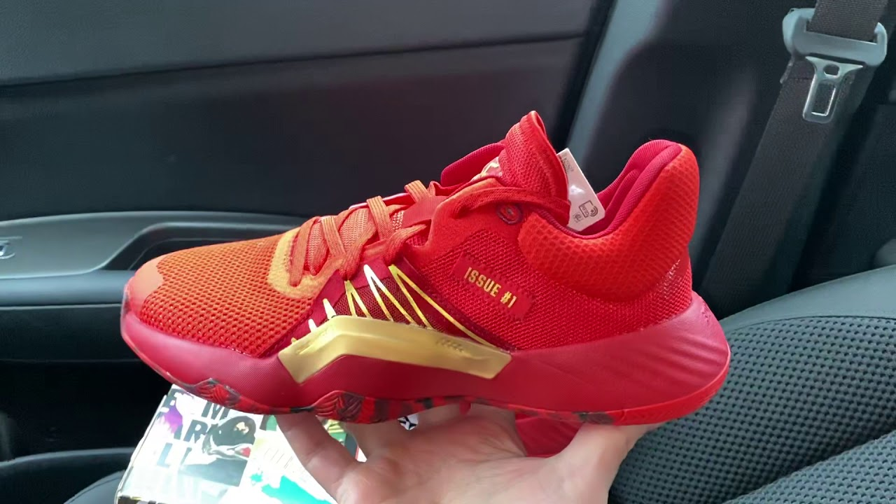 Adidas DON Issue 1 Iron Spider Limited