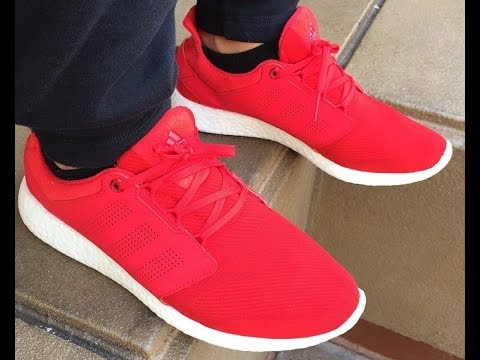 Pure Boost Adidas Red