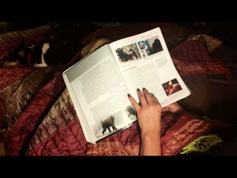 #30 ASMR page turning   Biological anthropology textbook unspoken  HD