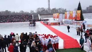 Олимпийский Огонь. Нижний Новгород. Сормово. Стадион