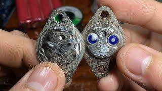 Đập sò sắt xịn đời đầu 1980 phát hiện điều rất thú vị !!!!!!