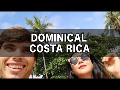 HIPPIE PARADISE! — Dominical, Costa Rica — Costa Rica Travel Vlog