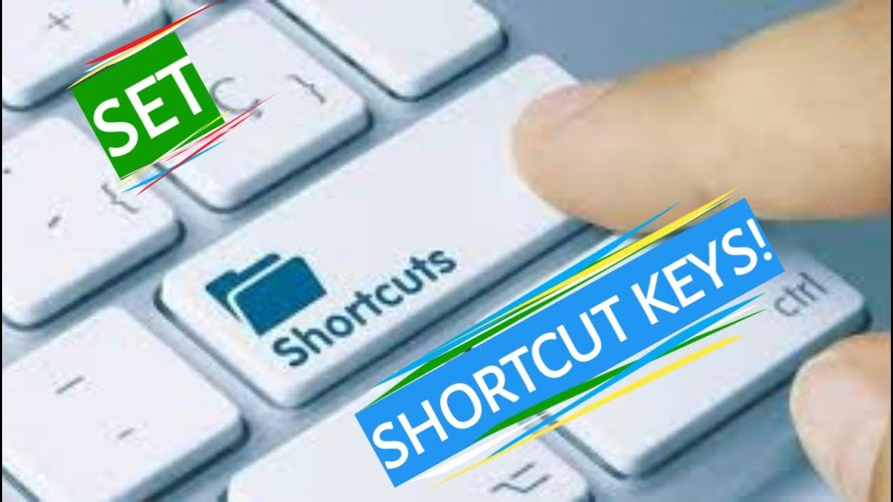 How To Set Shortcut Keys For Apps! | Windows 10