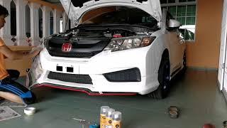 DIY : Plasti Dip on Honda City GM6