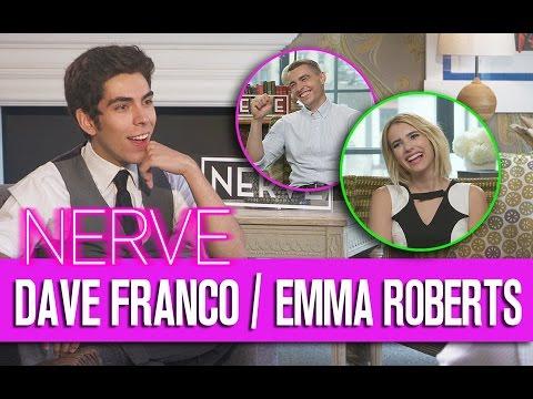 NERVE: Entrevista con Dave Franco y Emma Roberts | Caja de Peliculas