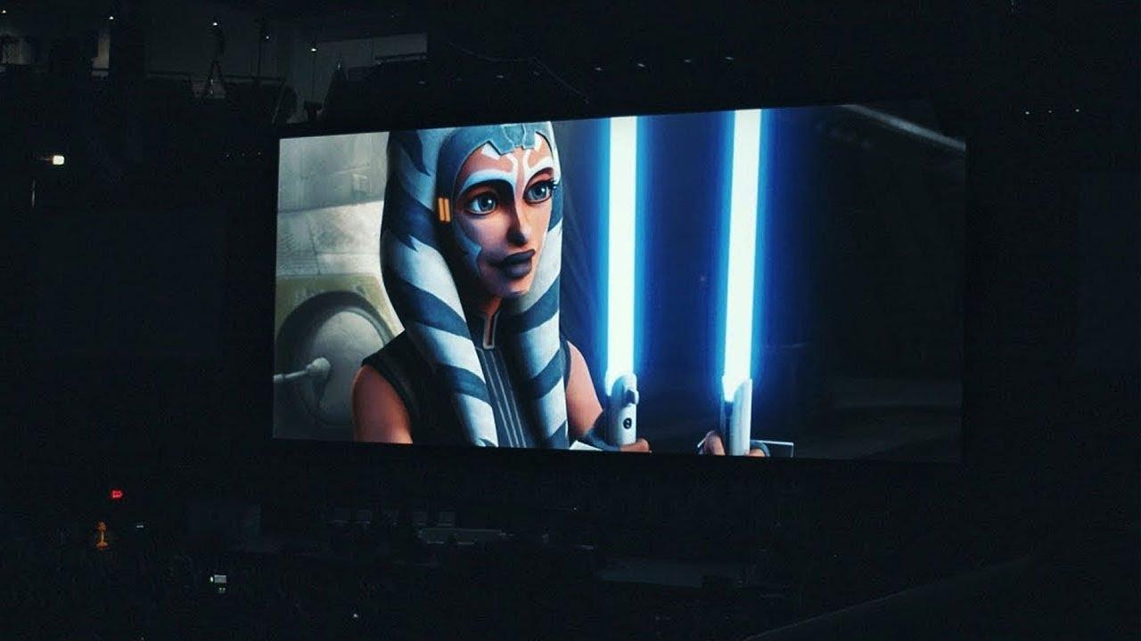 Download Clone Wars Season 7 Trailer Crowd Reaction in 4K