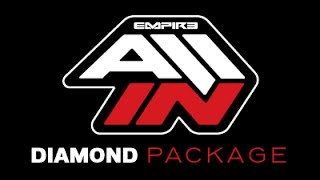 Empire ALL IN Paintball Sponsorship - DIAMOND PACKAGE
