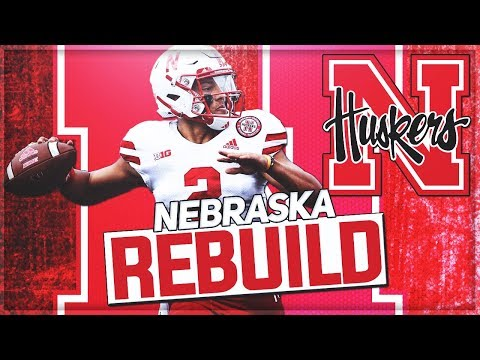 Rebuilding Nebraska   Adrian Martinez Becomes GOAT Cornhusker QB   NCAA Football 14