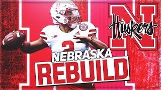 Rebuilding Nebraska | Adrian Martinez Becomes GOAT Cornhusker QB | NCAA Football 14