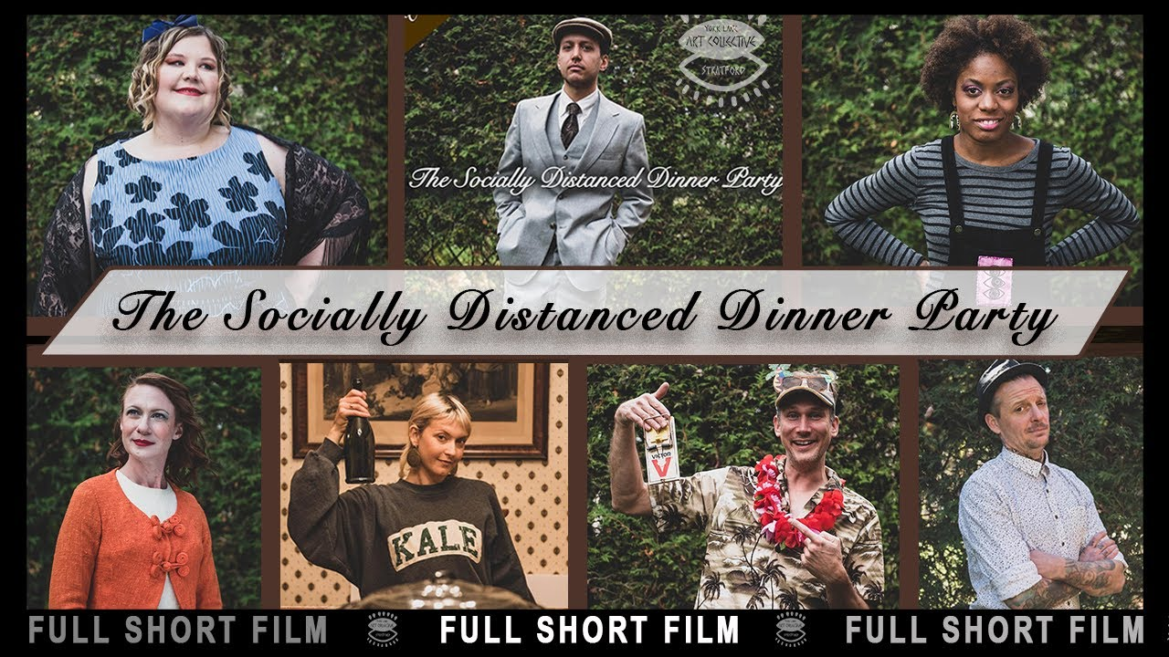The Socially Distanced Dinner Party (Full Short Film) | DARK CO