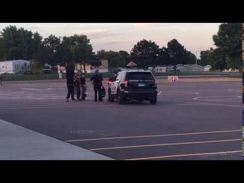 Sioux Falls SD Police Busting Kids At Hayward Elementary