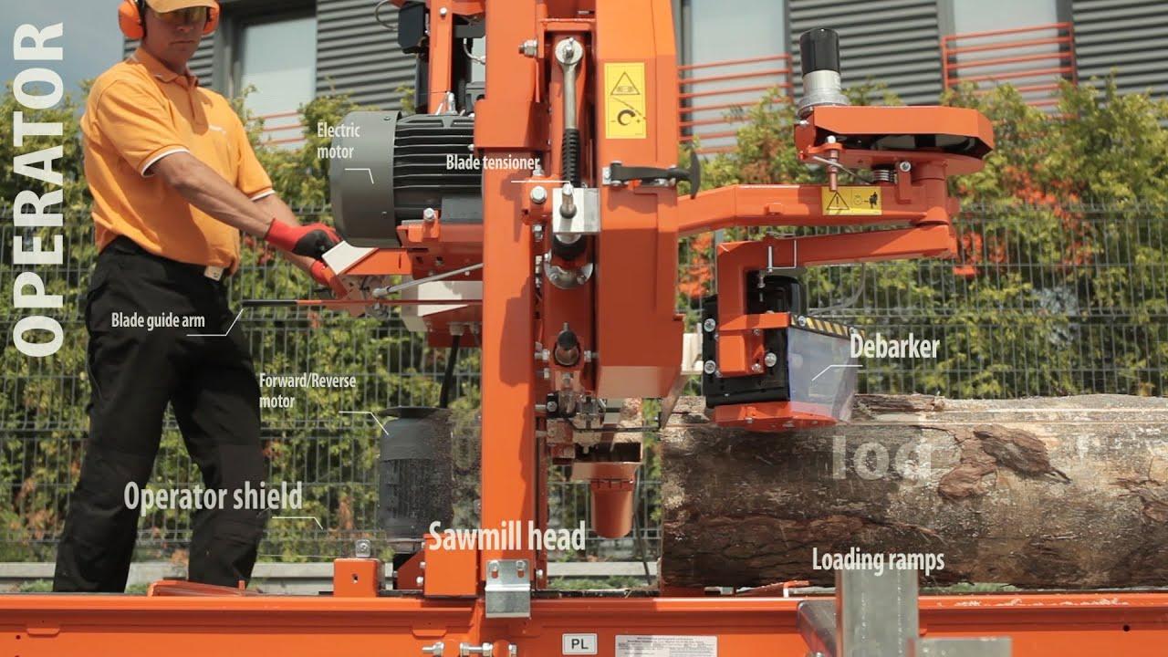 Wood Mizer Lt15 Professional Sawmill