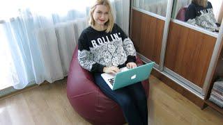 Наше новое любимое кресло-груша с art-puf.com.ua | carrypingwin(, 2014-10-27T13:59:15.000Z)