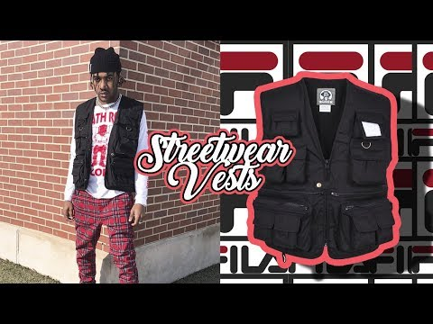 3 Easy Ways To Style A Vest | Streetwear Tactical Vest