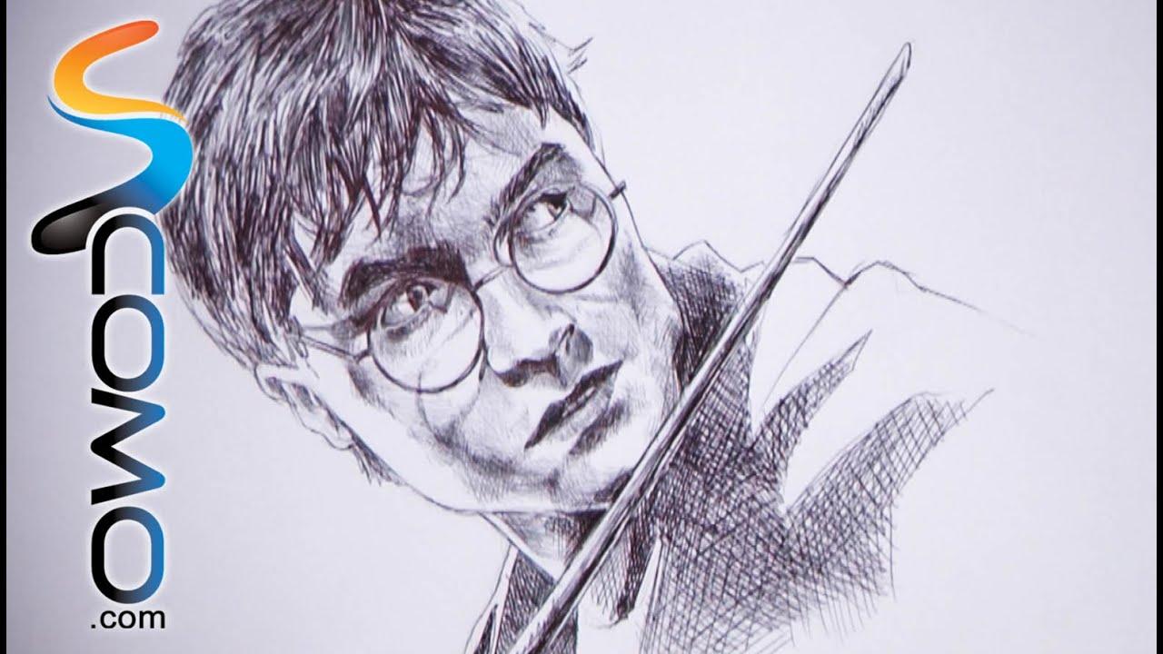 Dibujar a harry potter youtube - Dibujos juveniles ...