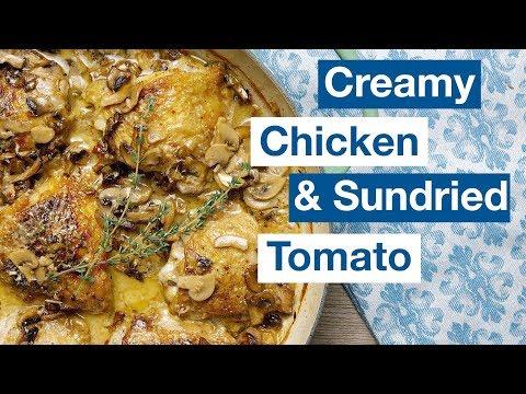 🔵 One Pan Chicken With Sun Dried Tomato Cream Sauce Recipe