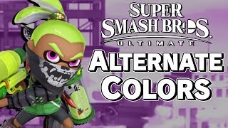 Smash Ultimate Full Game Costumes: First Impressions - Super Smash Bros. – Aaronitmar