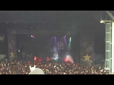 Slayer - Mayhem Festival DTE Energy Music Theatre