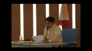 Inaugural Session of City Council of Santa Rosa, Laguna 2010 part 3 of 3