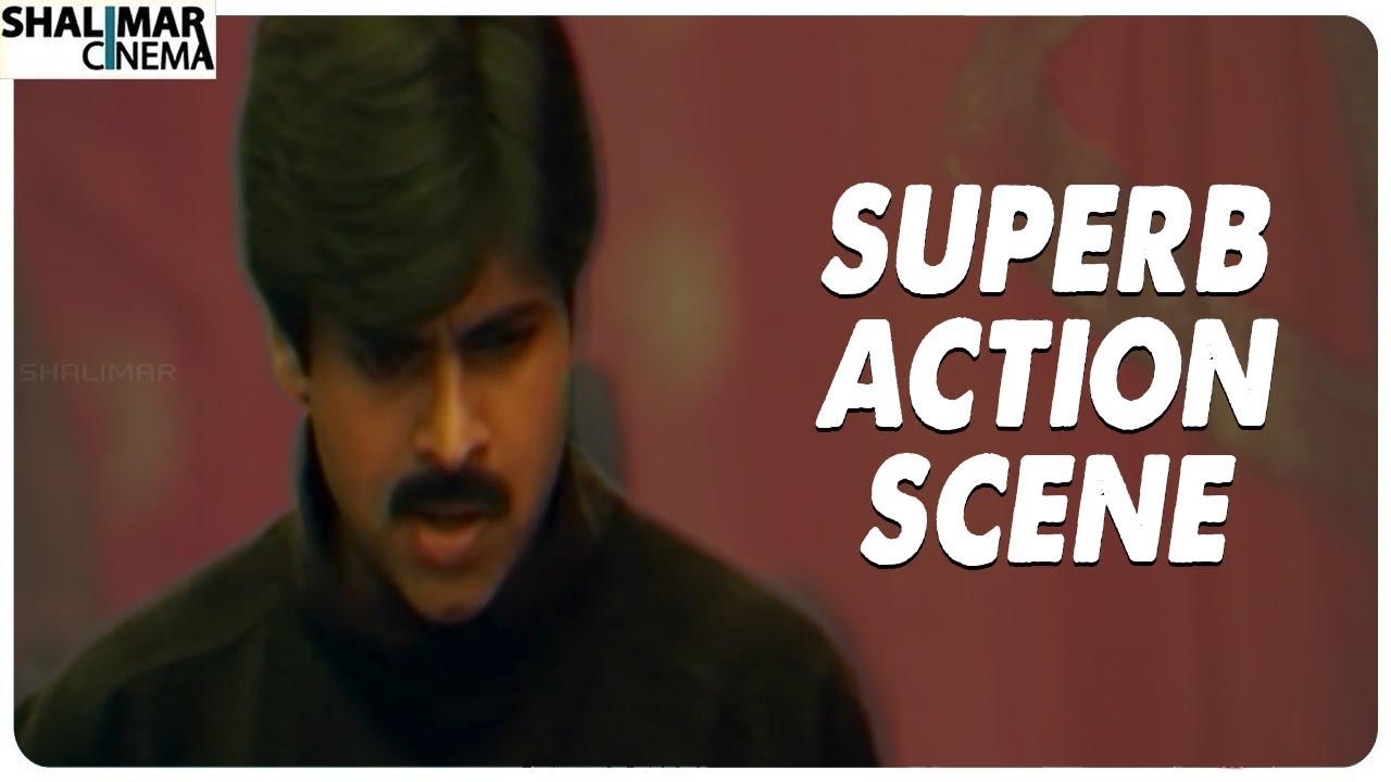 Pawan Kalyan Superb Action Scene || Kushi Movie || Shalimar Cinema
