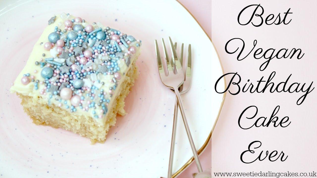 How To Make Vegan Birthday Cake Vegan Recipes