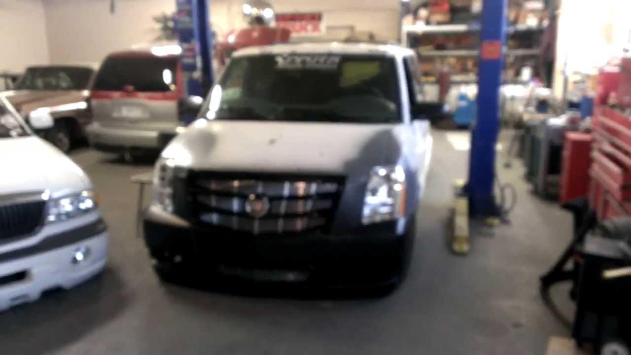 Platinum Cadillac Front Clip Conversion - YouTube
