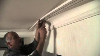 видео Шина Потолочная Однорядная, Двух и Трехрядная, Алюминиевые и Пластиковые Карнизы Для Потолка