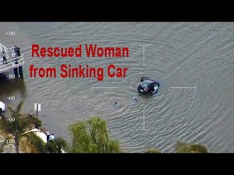Rrescued a woman from sinking car | Perfect Action required to save Life | HD 720p