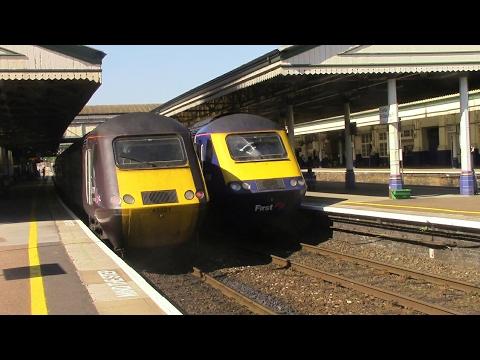 Trains at Exeter St Davids, GWML + RL (Part 1) - 26/5/17