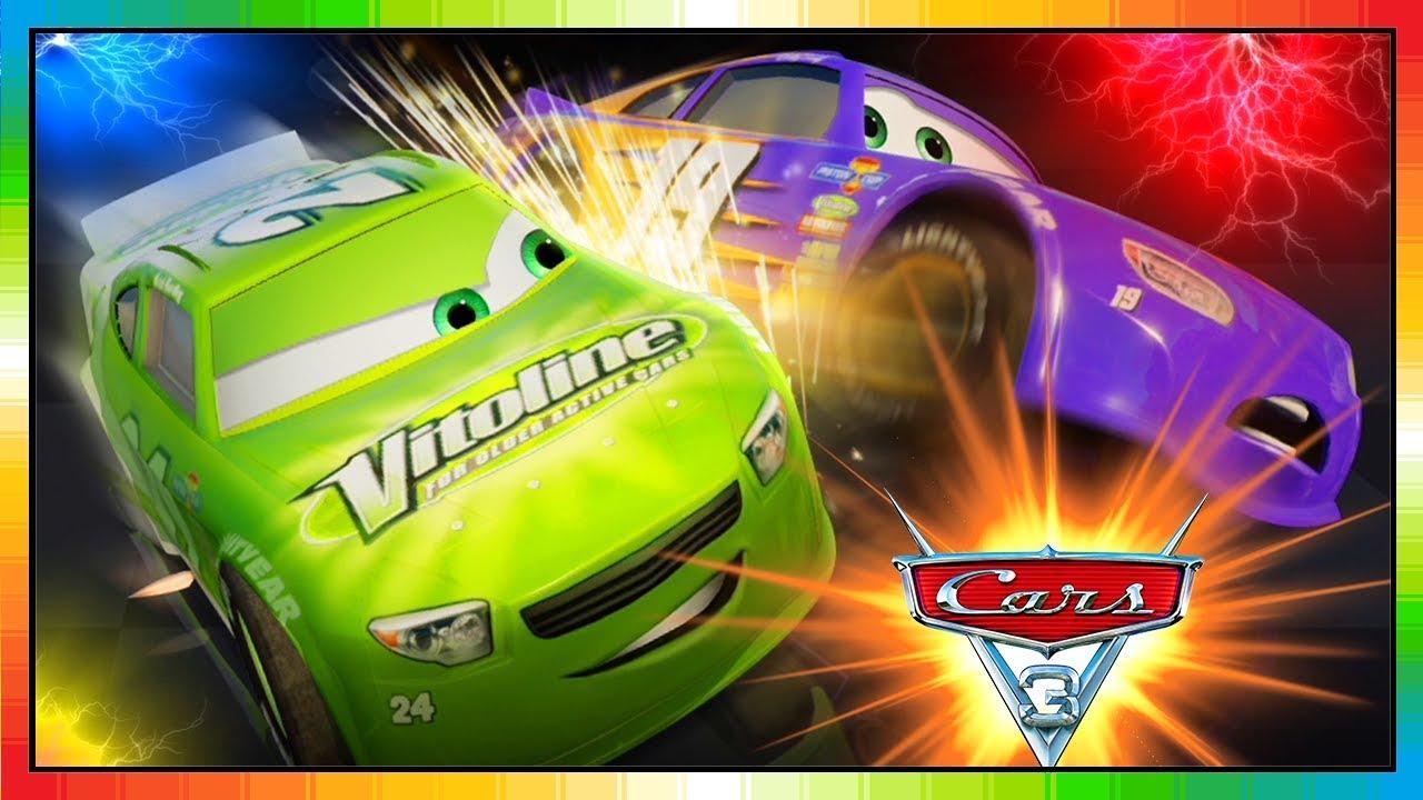 Cars 3 Driven To Win Gameplay Brick Yardley Vs Bobby Swift Youtube