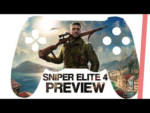 Sniper Elite 4 Preview | Jäger der Kronjuwelen