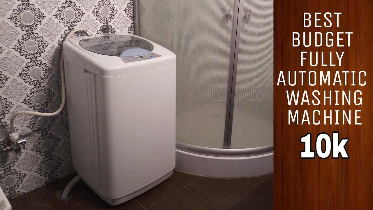 Best Top Loading Washing Machine >> Best Budget Fully automatic Top Load Washing Machine | HAIER HWM60-10 | Review| Under 10k ...
