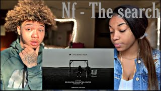 First time reacting to NF - The Search REACTION