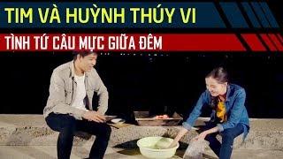 Bắt gặp ca sĩ Tim đang hẹn hò gái nhà lành Thúy Vi giữa đêm sau khi ly hôn Trương Quỳnh Anh